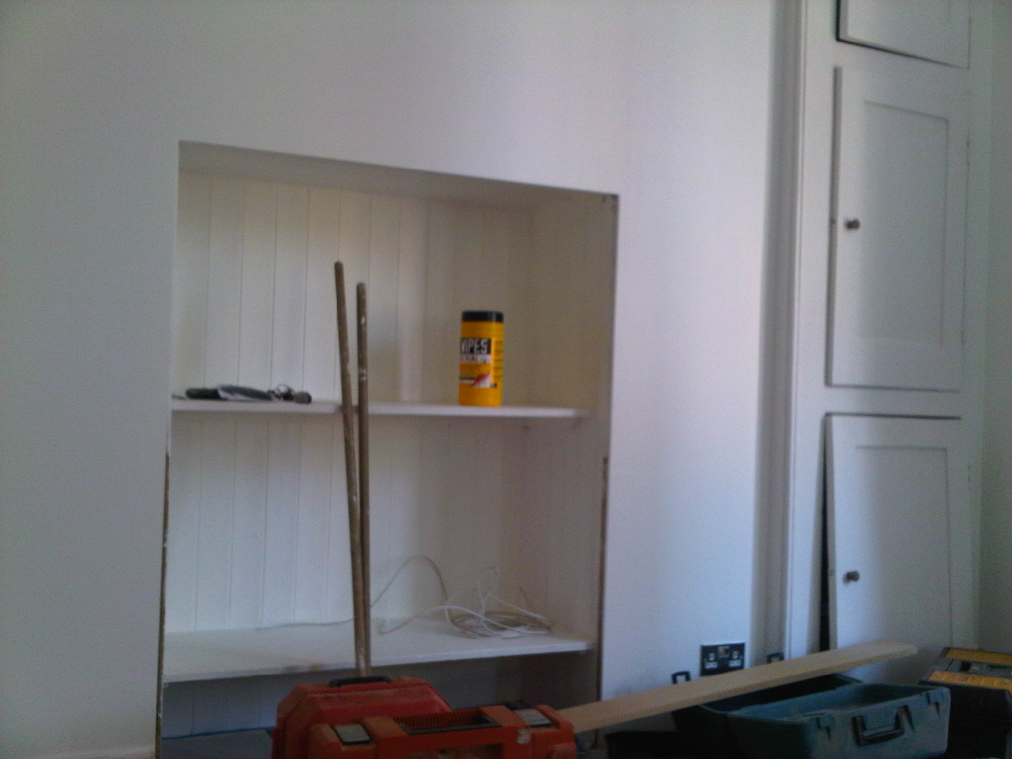 Alcove Cupboard Ez Builders London
