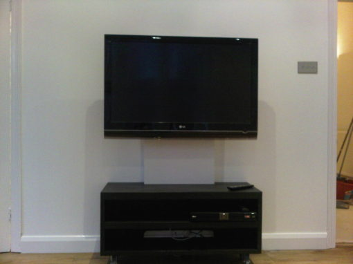 TV Unit Installation