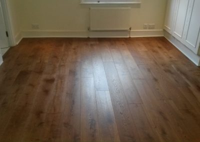 Wood Floor and Decorative Wall Cladding Installation in Hampstead